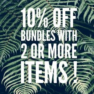 10% off 2 or more bundled items